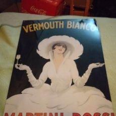 Vintage: CARTEL METAL MARTINI & ROSSI. Lote 222713216