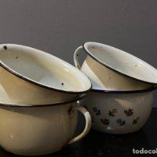 Vintage: ORINALES DE PORCELANA (LOTE DE 4). Lote 222834735