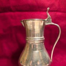 Vintage: ANTIGUA JARRA DE ESTAÑO PARA CERVEZA. 28,5X15 CM. MUY PESADA.. Lote 225003287