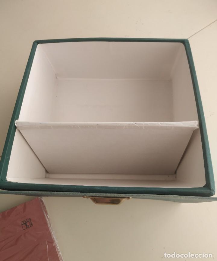 Vintage: Antigua caja cajón archivador clasificador fichero de oficina. Centauro. Años 60. Con fichas - Foto 11 - 225915336