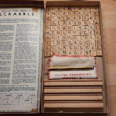 Vintage: SCRABBLE HECHO EN VENEZUELA 1971. Lote 227242460