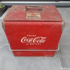 Vintage: NEVERA COCA COLA AMERICANA DE LOS AÑOS 50.ORIGINAL .. Lote 227629495