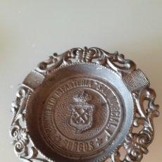 Vintage: CENICERO MILITAR PEQUEÑO PARA USO INDIVIDUAL REGIMIENTO DE INFANTERIA SAN MARCIAL. BURGOS. Lote 228286800