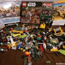 Vintage: LEGO RESTOS DESGUACE DE PROCEDENTE DE CAJAS EXPUESTAS. Lote 228481833