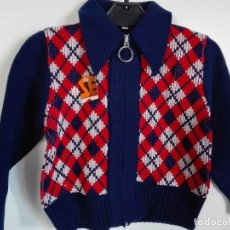 Vintage: CHAQUETA VINTAGE INFANTIL HECHA EN ESPAÑA 20943 SERMO. Lote 229894265