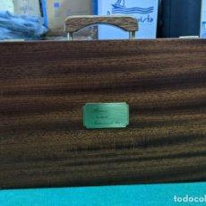 Vintage: ESPECTACULAR MALETIN CON INSTRUMENTOS NAUTICOS - COMPLETO - IMPECABLE. Lote 251959095