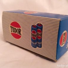 Vintage: CAJA DE PILAS TUDOR A-12 R6 NUEVA AÑOS 70 TIPO WONDER ENERGIZER CEGASA JUPITER LINX TXIMIST EVEREADY. Lote 231053630