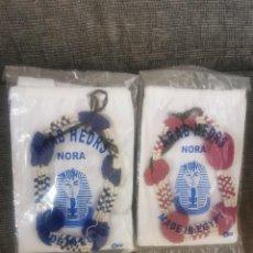 Vintage: 2 ARAB HEDRS NORA. KUFIYYA. EGIPTO. ORIGINALES. Lote 231715690