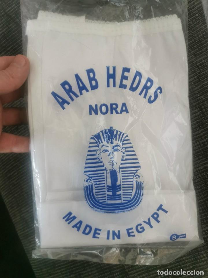 Vintage: 2 Arab hedrs Nora. Kufiyya. Egipto. Originales - Foto 3 - 231715690