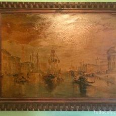 Vintage: CUADRO, COPIA, SOBRE LIENZO CON MARCO DE MADERA, AÑOS 60/70,. Lote 231974060