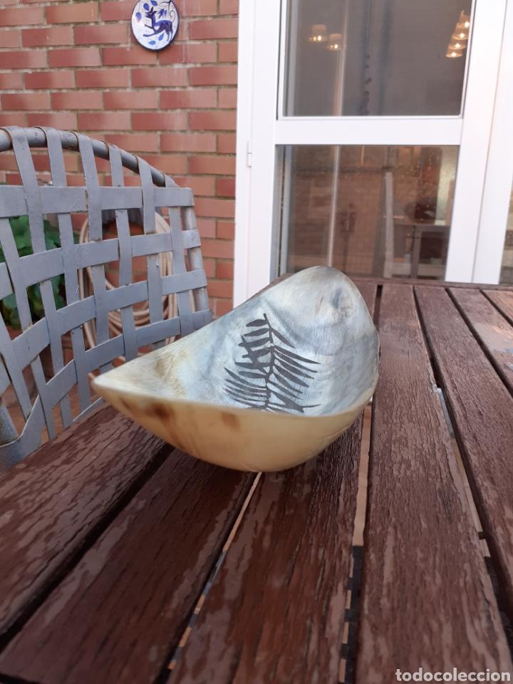 Vintage: Centro de mesa en cuerno hasta de toro - Foto 4 - 232128740