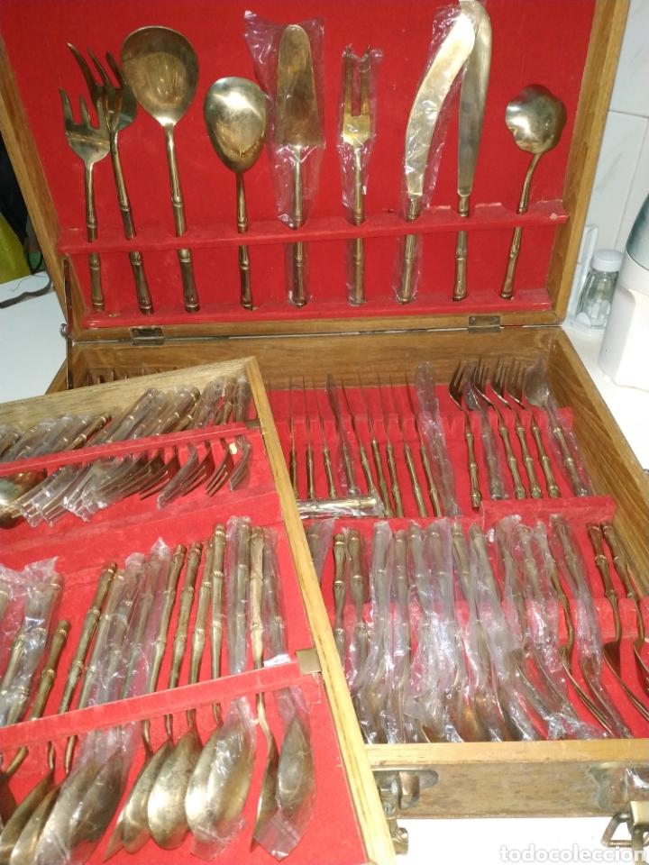 Vintage: cubertería Siam tailand bronce - Foto 10 - 234782280