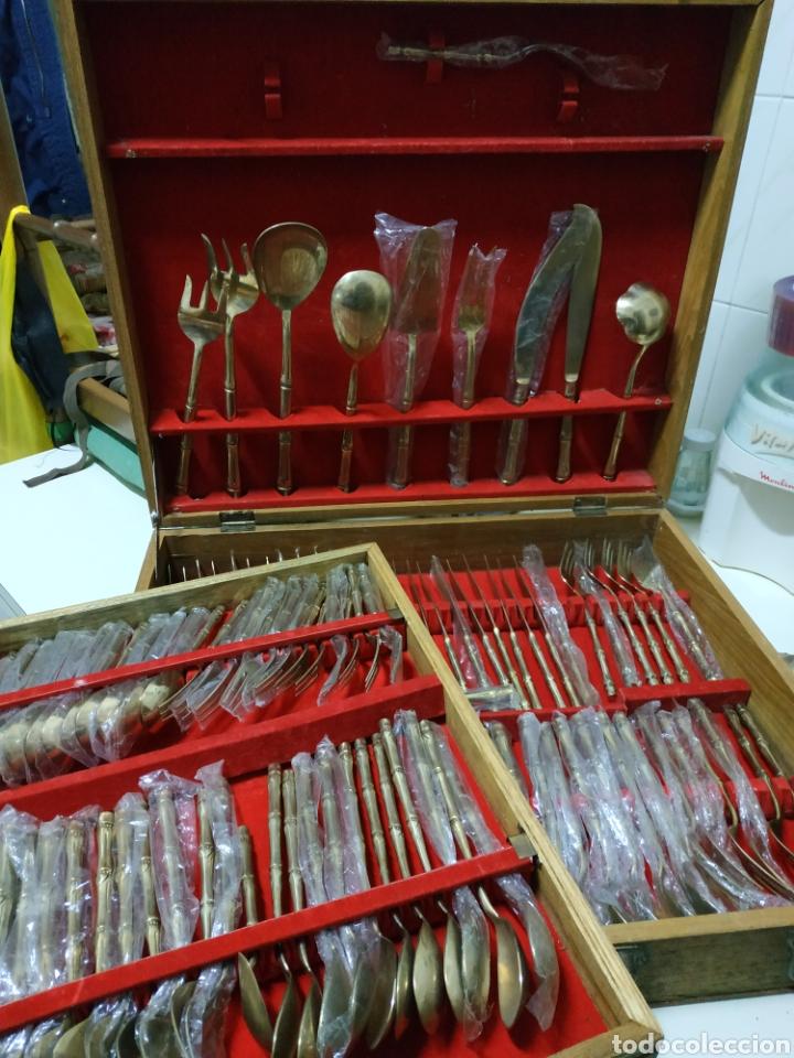 Vintage: cubertería Siam tailand bronce - Foto 11 - 234782280