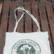 Vintage: BOLSA DE TELA PANAMÁ JACK. Lote 235018715