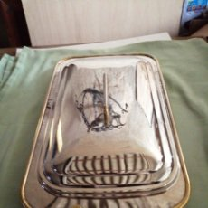 Vintage: BANDEJA GRANDE CON TAPA - ITALY. Lote 236174280