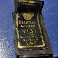 Vintage: PAQUETES AGUJAS CORONA ELIPTICO LARGAS Nº 3. Lote 236206465