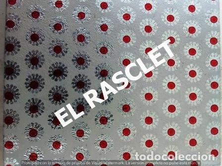 Vintage: DOS PERCHAS PLEGABLES EN METAL FORRADO CON TELA Y CEPILLO - Foto 8 - 236598415
