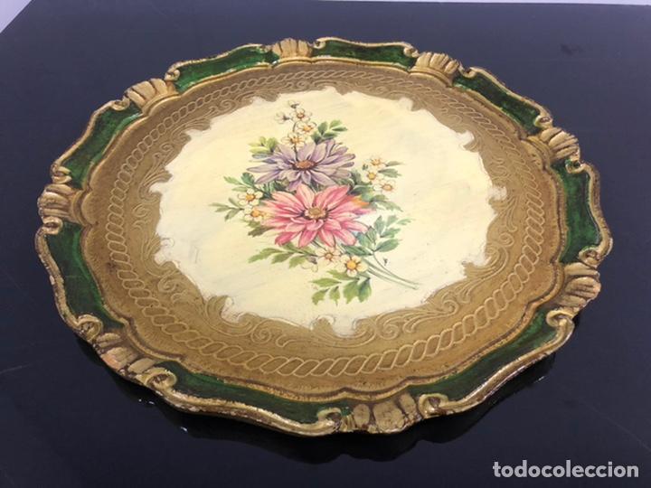Vintage: Antigua bandeja de madera de balsa vintage - Foto 3 - 236618540