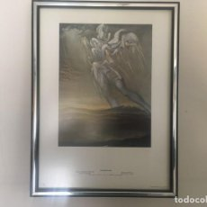 """Vintage: CUADRO DE SALVADOR DALI,LAMINA ENCUADERNADA DE DASA EDICIONS DE 1980"""" ANGEL SURREALISTA"""". Lote 236743220"""