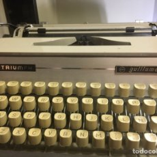 Vintage: MÀQUINA ESCRIBIR. GUILLAMET. TRIONPH. Lote 236785970