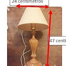 Vintage: BONITA LAMPARA DE MADERA.. Lote 238032665