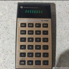 Vintage: TEXAS INSTRUMENTS TI-1025. Lote 237392020