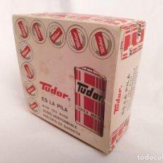 Vintage: CAJA DE PILAS TUDOR A-11 R14 NUEVA AÑOS 60 WONDER ENERGIZER CEGASA JUPITER LINX TXIMIST EVEREADY. Lote 238309905