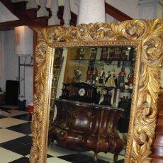 Vintage: ESPEJO RECTANGULAR ORO. Lote 238490950