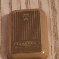 Vintage: GRUNDING MICROPHONE VINTAGE GDM 12 GERMANY 1950. Lote 238890855