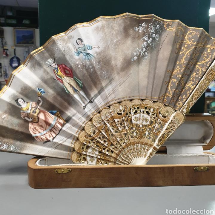 Vintage: Abanico con caja - Foto 3 - 239645435
