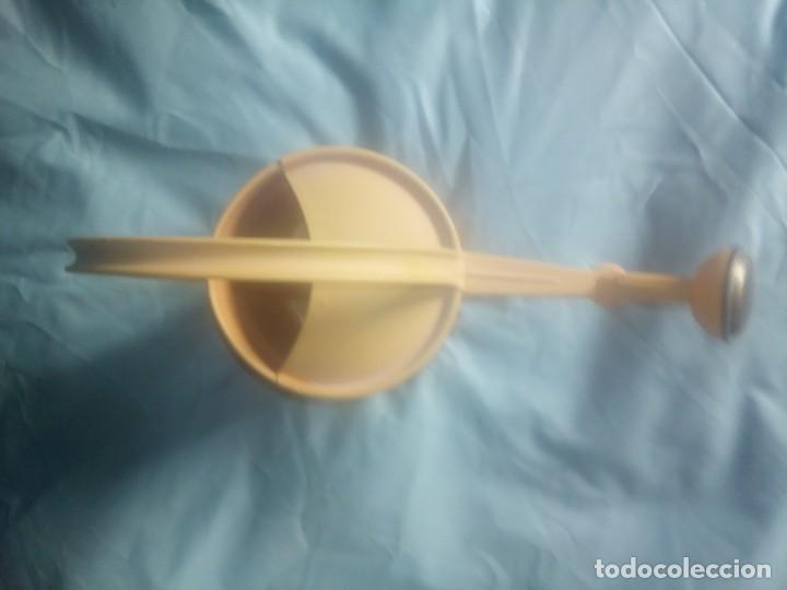 Vintage: Regadera de metal boca - Foto 5 - 240265420