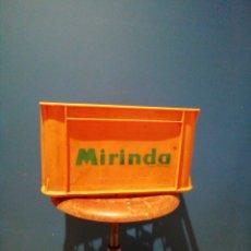 Vintage: CAJA DE MIRINDA 24 UNIDADES BOTELLINES (VACIA). Lote 241192995