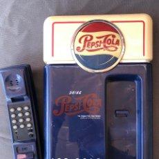 Vintage: TELEFONO VINTAGE FIJO DE PARED O DE MESA PUBLICIDAD DE PEPSI COLA. Lote 242177305