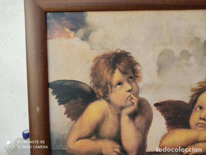 Vintage: cuadro con lamina - Foto 2 - 243019250