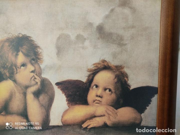Vintage: cuadro con lamina - Foto 3 - 243019250