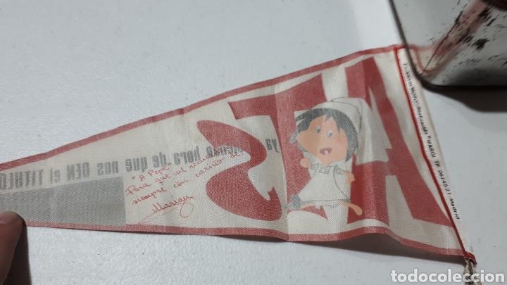 Vintage: Antiguo banderín Familia telerin promoción ATS del 63 al 66 - Foto 3 - 243181050