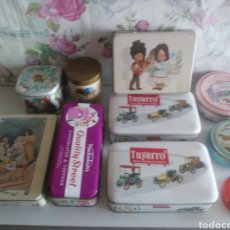 Vintage: ANTIGUAS LATAS DE METAL INFANTILES. Lote 243830525