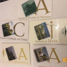Vintage: TARJETAS DE HOTEL PARADORES. Lote 245313835