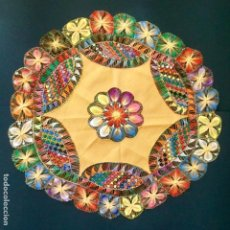 Vintage: NANDUTI VINTAGE LLENO DE COLORES. Lote 245366360