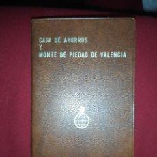 Vintage: AGENDA DATOS ÚTILES CAJA DE AHORROS Y MONTE 1977 DE PIEDAD DE VALENCIA. Lote 245505740