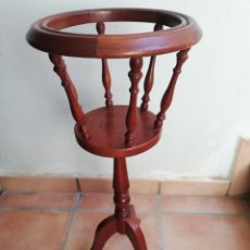 Vintage: MACETERO DE PIE EN MADERA. II. Lote 248626425