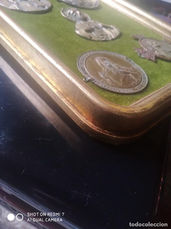 Vintage: Cuadro expositor sagrado corazon - Foto 4 - 251140500