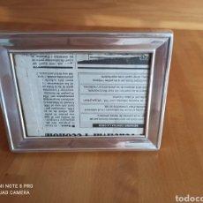 Vintage: MARCO DE PLATA, COMPRADO EN JOYERIA. Lote 252497020