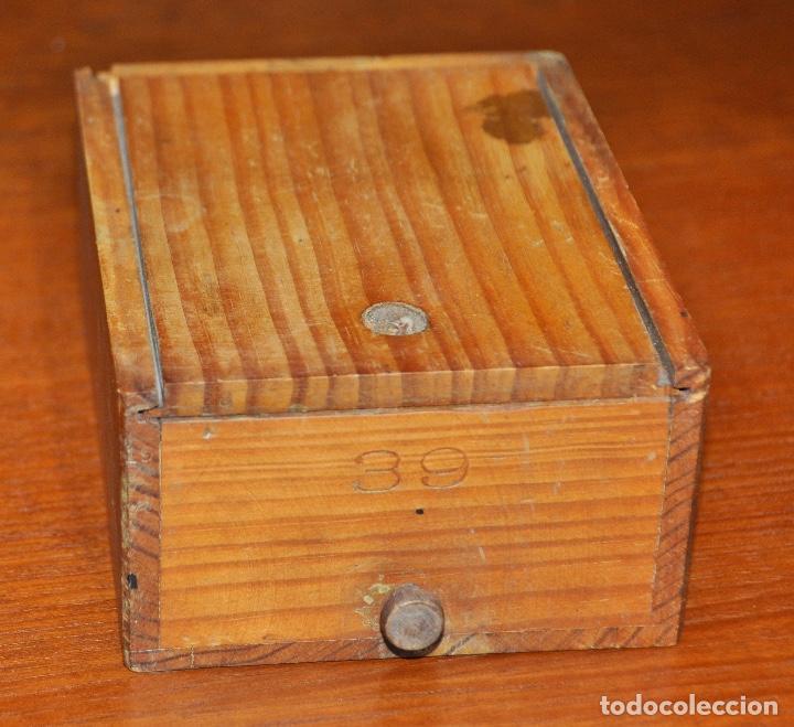 CAJA MADERA Nº 39 (Vintage - Varios)