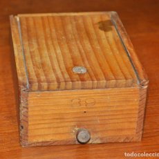 Vintage: CAJA MADERA Nº 39. Lote 253249105