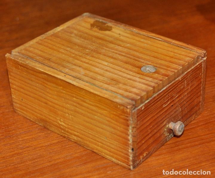 Vintage: Caja madera nº 39 - Foto 3 - 253249105