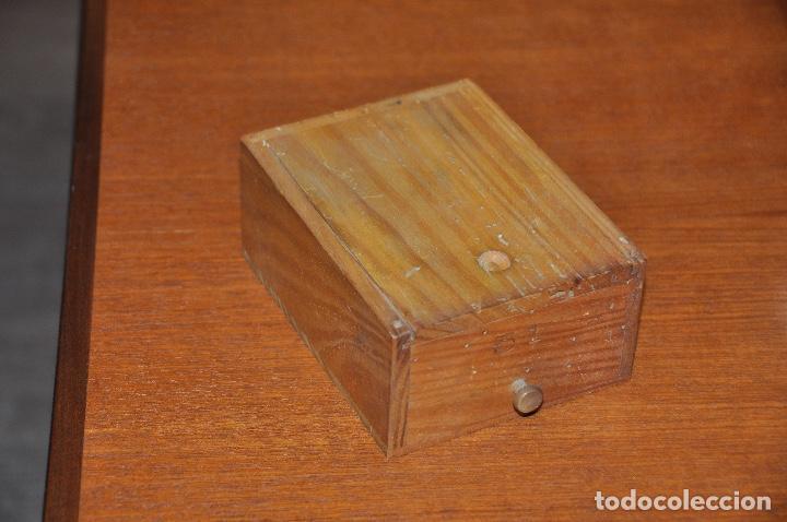 Vintage: Caja en madera nº 51 - Foto 2 - 253249730