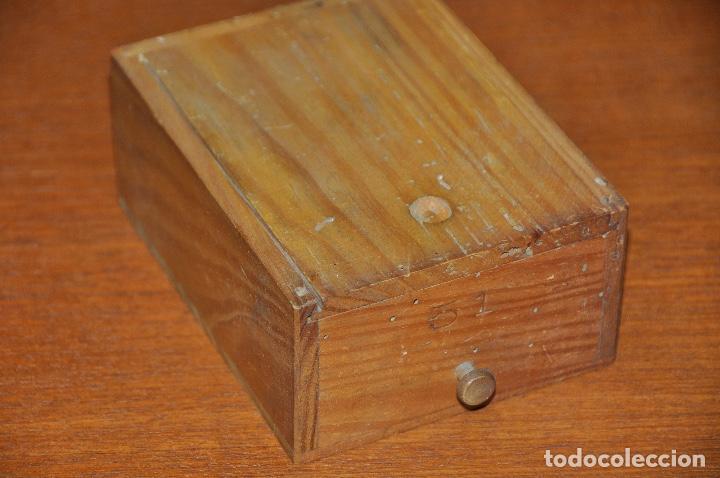 Vintage: Caja en madera nº 51 - Foto 3 - 253249730