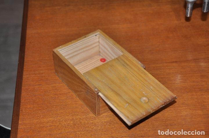 Vintage: Caja en madera nº 51 - Foto 4 - 253249730