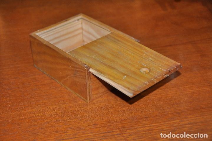 Vintage: Caja en madera nº 51 - Foto 5 - 253249730